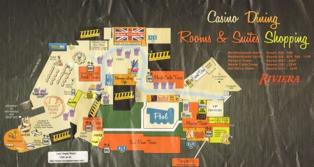 Riviera Casino Map